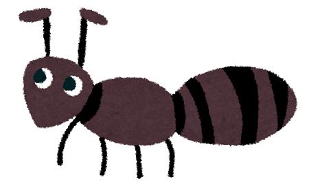 【朗報】アリさん、蝶さんを病院につれていく