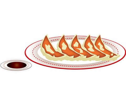 餃子のタレの黄金比=醤油7:ラー油3