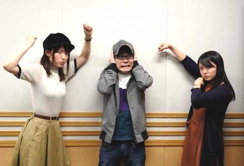 【ん報】声優の小松未可子さん、たまたま膨らんだシャツで爆乳みたいになってしまう