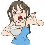 【画像あり】チーズ牛丼を食べるぐうかわ女子、発見されるwwwwwwww