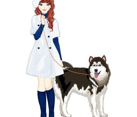 【画像あり】この女の子と付き合えるけど横の犬もついてくるボタンwwwwwwww