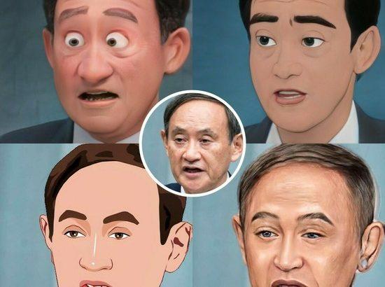 顔写真をピクサー&ジブリ風に加工するアプリが凄いwwwwwww